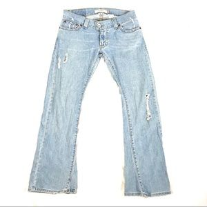 Vintage Levi's 504 slouch flap pocket jeans